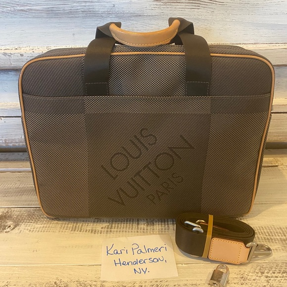 Louis Vuitton Briefcase Geant Associe Canvas GM